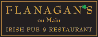Flanagan's On Main Logo